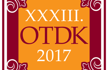 XXXIII. OTDK (National Scientific Students' Association) Conference, 2017