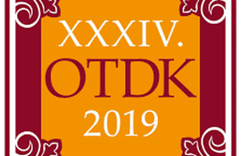 XXXIV. OTDK (National Scientific Students' Association) Conference, 2019