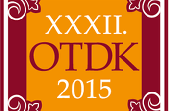 XXXII. OTDK (National Scientific Students' Association) Conference, 2015